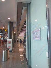Противопожарные автоматические шторы Fireshield «Гармошка» EI 120 в Международном Аэропорте