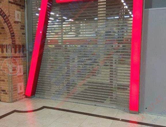 Рулонные ворота М80, перфорированные, для ГК Эльдорадо